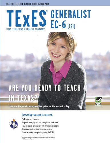 TExES Generalist EC-6 (191)  2nd 2014 (Revised) edition cover