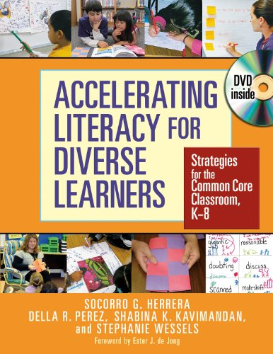 Accelerating Liteacy for Diverse Learners Strategies for the Common Core Classroom, K - 8  2013 9780807754504 Front Cover