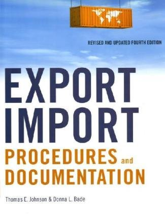 Export/Import Procedures and Documentation  4th 2010 (Revised) edition cover