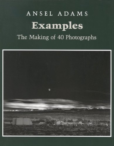 Examples The Making of 40 Photographs N/A edition cover
