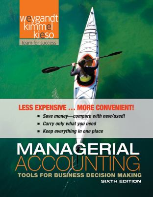 Managerial Accounting: Tools for Business Decision Making 6th 2011 edition cover