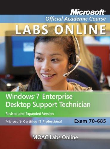 Windows 7 Enterprise Desktop Support Technician   2012 (Revised) edition cover
