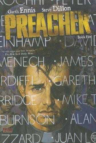 Preacher   2009 9781401232504 Front Cover