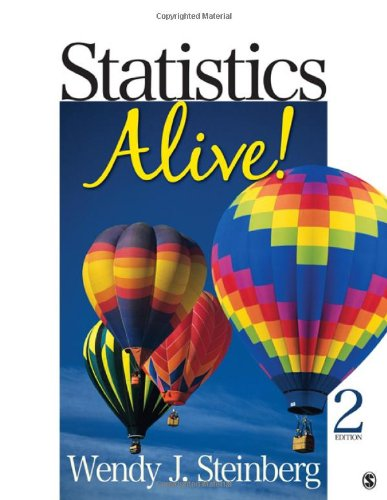Statistics Alive!  2nd 2011 edition cover