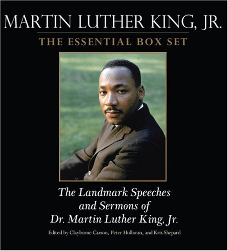 Martin Luther King: the Essential Box Set: The Landmark Speeches and Sermons of Martin Luther King, Jr.  2009 edition cover