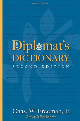 Diplomat's Dictionary  2nd 2010 (Revised) edition cover