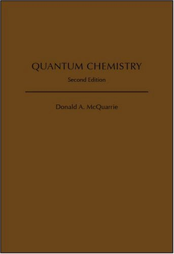 Quantum Chemistry  2nd 2007 (Revised) edition cover