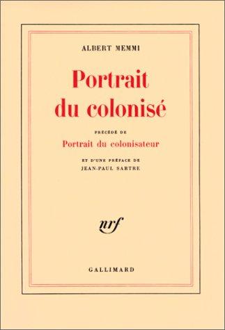 PORTRAIT DU COLONISE 1st edition cover