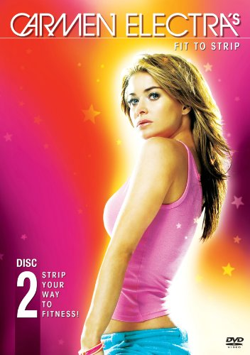 Carmen Electra's: Fit to Strip System.Collections.Generic.List`1[System.String] artwork