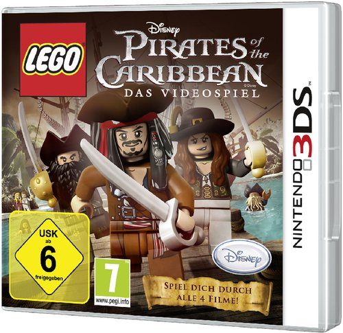 LEGO Pirates of the Caribbean Nintendo 3DS artwork