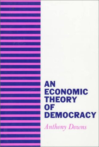 Economic Theory of Democracy   1957 edition cover