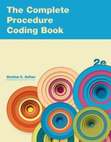Complete Procedure Coding Book  2nd 2012 edition cover