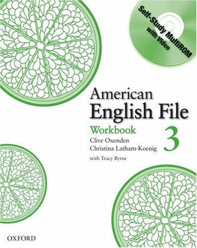 American English File  Workbook edition cover