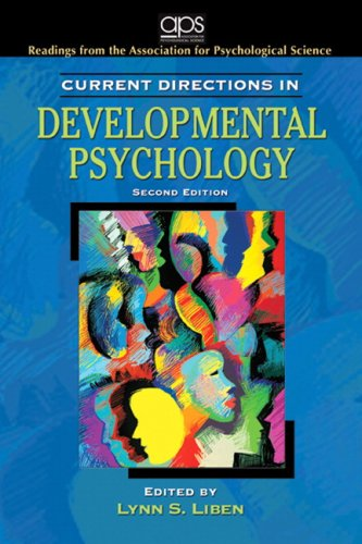 Current Directions in Developmental Psychology  2nd 2009 edition cover