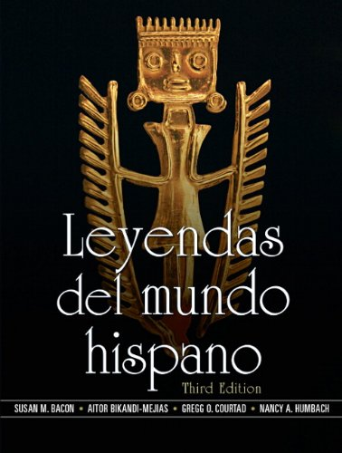 Leyendas del Mundo Hispano  3rd 2010 edition cover