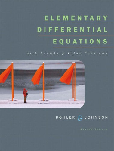 Elementary Differential Equations with Boundary Value Problems with IDE CD Package  2nd 2006 (Revised) edition cover