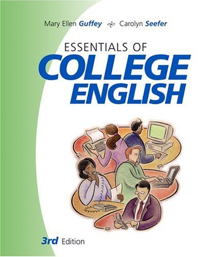 Essentials of College English  3rd 2005 (Revised) edition cover