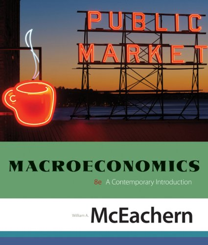 Macroeconomics A Contemporary Introduction 8th 2009 edition cover