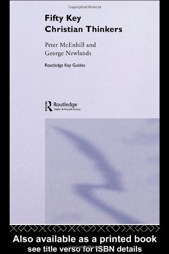Fifty Key Christian Thinkers   2004 edition cover