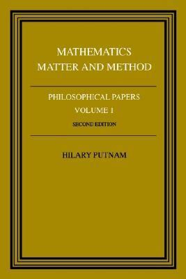 Philosophical Papers Mathematics, Matter and Method 2nd 1979 9780521295505 Front Cover