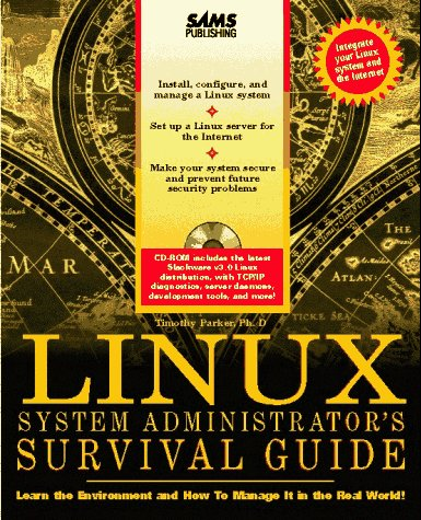 Linux System Administrator's Survival Guide   1996 9780672308505 Front Cover