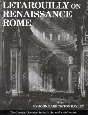 Letarouilly on Renaissance Rome  N/A 9780803809505 Front Cover