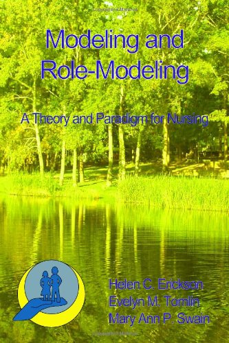 Modeling and Role-Modeling A Theory and Paradigm for Nursing  1988 edition cover