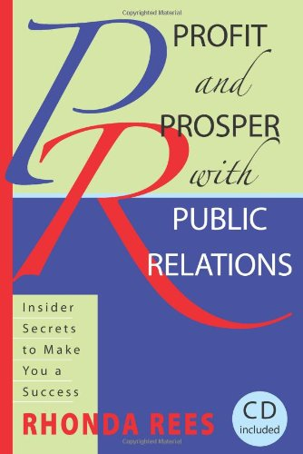 PROFIT+PROSPER W/PUBLIC RELATIONS-W/CD  N/A 9780982223505 Front Cover