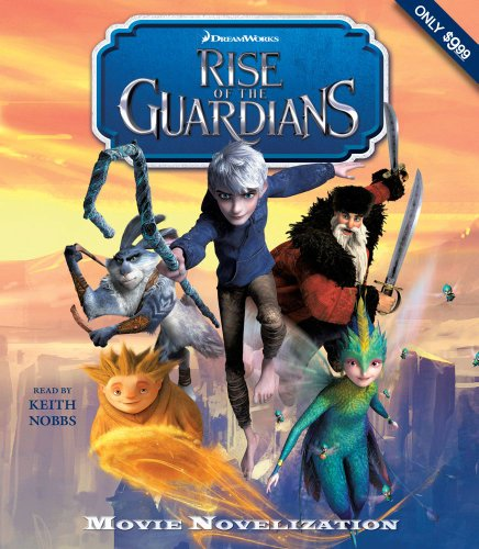 Rise of the Guardians Junior Novelization:   2012 edition cover