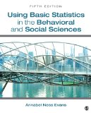 Using Basic Statistics in the Behavioral and Social Sciences  5th 2014 edition cover