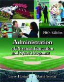 Administration of Physical Education and Sport Programs  5th edition cover