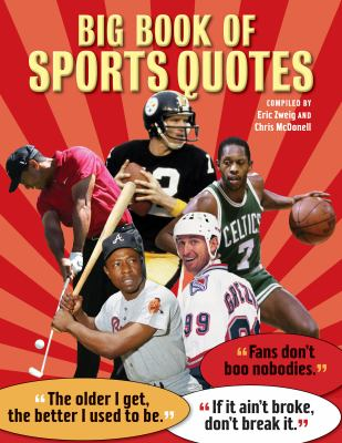 Big Book of Sports Quotes   2010 9781554076505 Front Cover