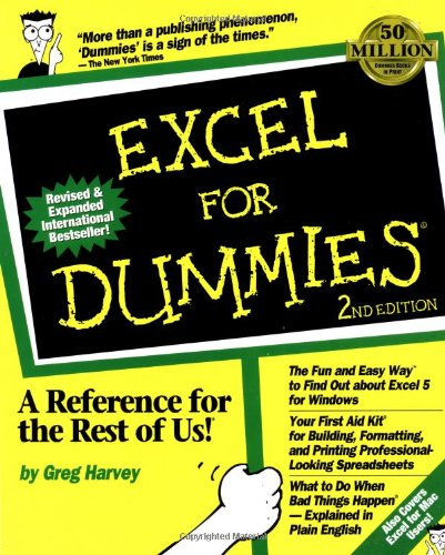 Excel for Dummies�  2nd 1994 (Revised) edition cover