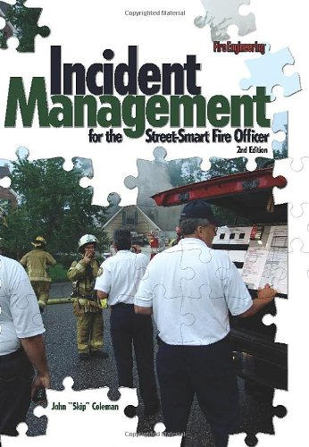 Incident Management for the Street-Smart Fire Officer  2nd 2008 edition cover