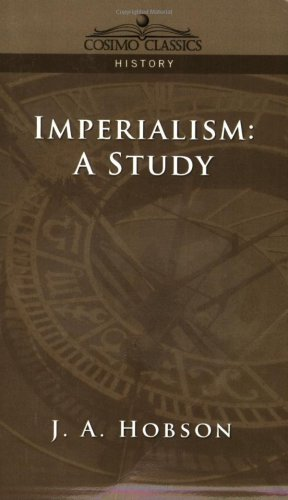 Imperialism: a Study  N/A edition cover