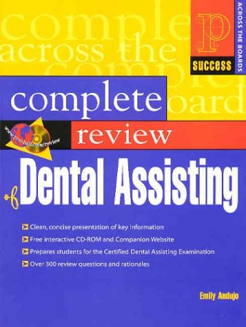 Prentice Hall Health's Complete Review of Dental Assisting   2004 edition cover