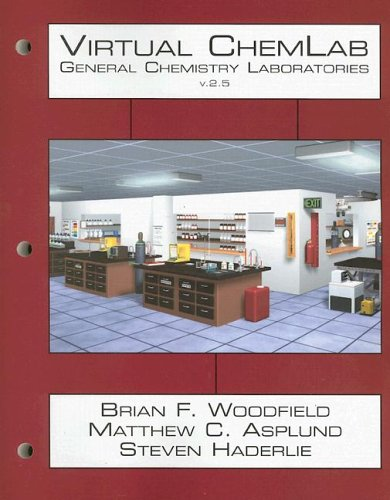 Virtual Chemlab General Chemistry Laboratories 3rd 2006 (Revised) edition cover