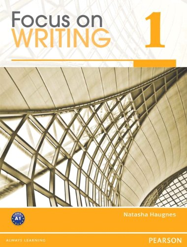 Focus on Writing 1   2012 edition cover