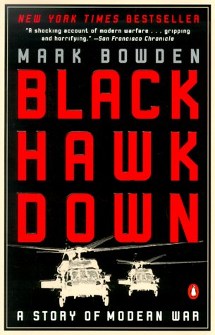 Black Hawk Down A Story of Modern War N/A 9780140288506 Front Cover