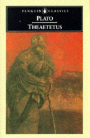 Theatetus   2004 edition cover