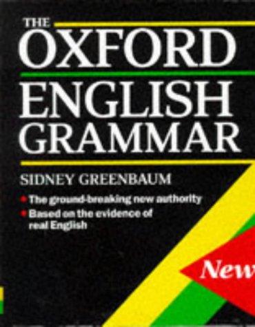 Oxford English Grammar   1996 edition cover