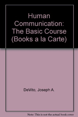 Human Communication The Basic Course 11th 2009 9780205772506 Front Cover