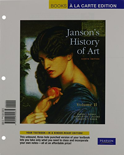 Janson's History of Art The Western Tradition 8th 2011 9780205800506 Front Cover