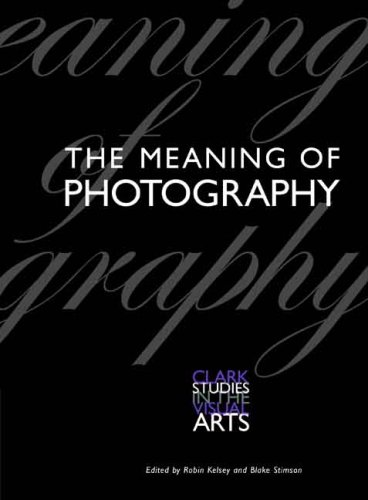 Meaning of Photography   2008 edition cover