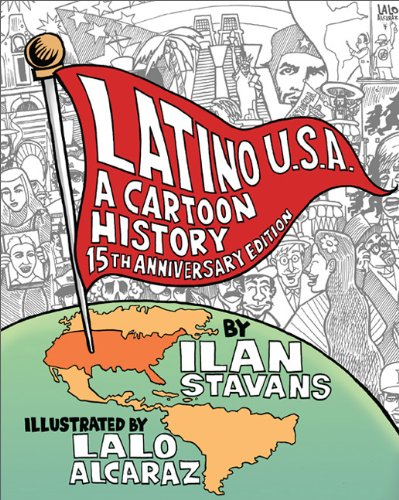 Latino U.S.A. A Cartoon History Revised edition cover