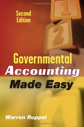 Governmental Accounting Made Easy  2nd 2009 edition cover