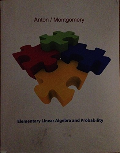 ELEMENTARY LINEAR ALG.+PROB. >CUSTOM<   N/A 9780470734506 Front Cover