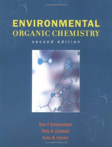 Environmental Organic Chemistry  2nd 2002 (Revised) edition cover