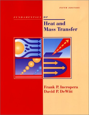Fundamentals of Heat and Mass Transfer  5th 2002 (Revised) edition cover