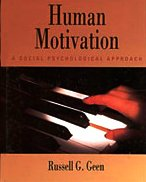 Human Motivation A Social Psychological Approach 1st 1995 9780534238506 Front Cover